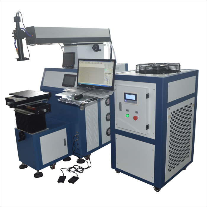 Automatic laser welding machine - hard light path 400 watts