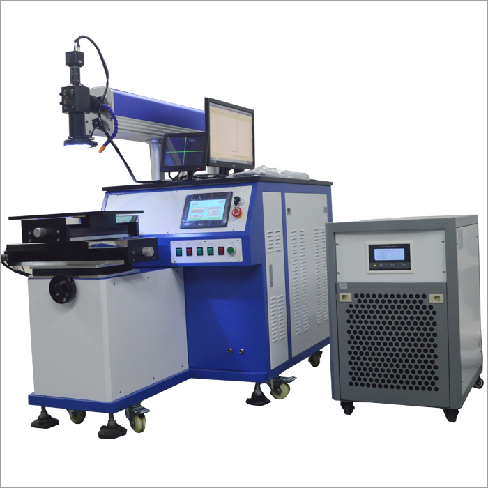200 Watt automatic laser welding machine - hard light path