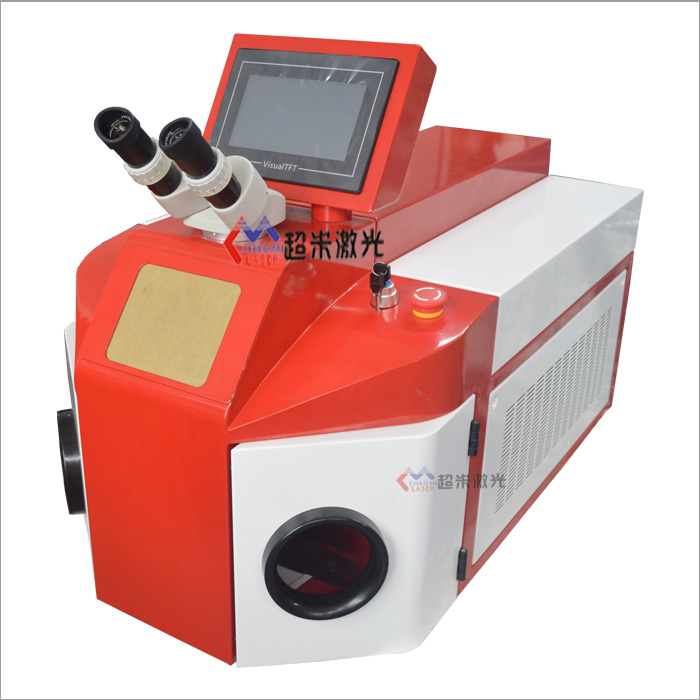 Desktop jewelry laser spot welding machine