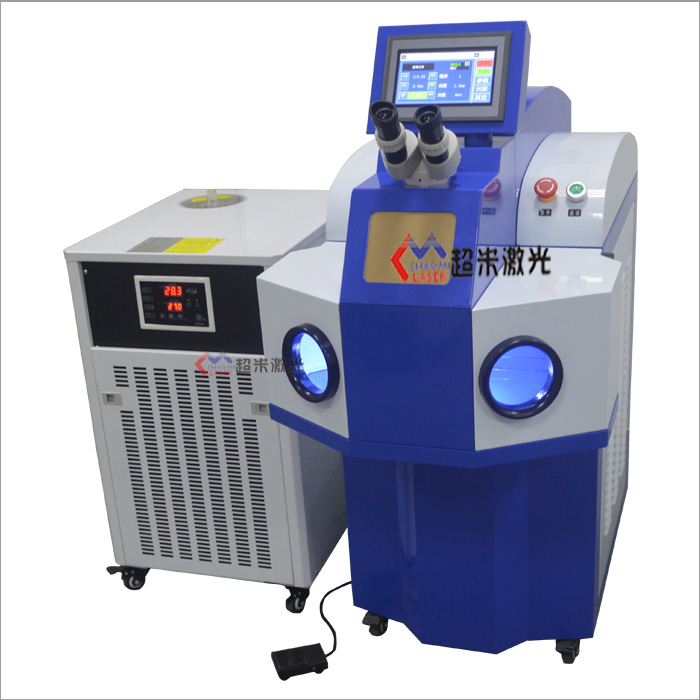 Jewelry laser welding machine - Closed