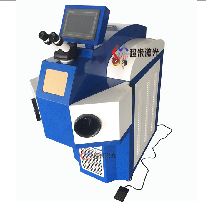 Integral jewelry laser spot welding machine