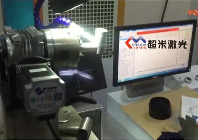 Stainless steel tube automatic laser welding machine video