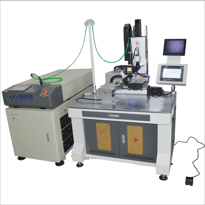 2-axis optical fiber transmission automatic laser welding machine 200W soft road