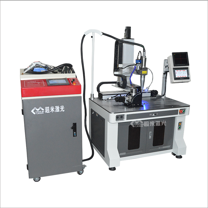 Handheld automatic integrated continuous fiber laser welding machine